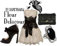 HP: Fleur's Wedding inspired outfit by Disneybound at:  http://disneybound.tumblr.com/