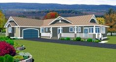 Country   House Plan 90897