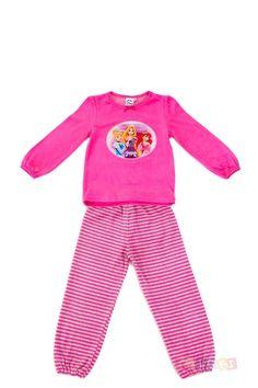 Pyjama Disney Princess fuschia | Toluki http://www.toluki.com/prod.php?id=763 #enfant #disney #princesse