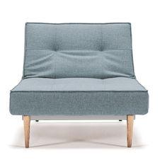 Innovation Living Split Back Fabric Convertible Chair