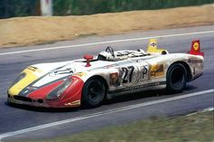 1970 .. Le Mans entered by Martini international racing team Porsche 908/2 , driven by Rudi Lins / Helmut Marko , finished 3rd o/a , 1st in class