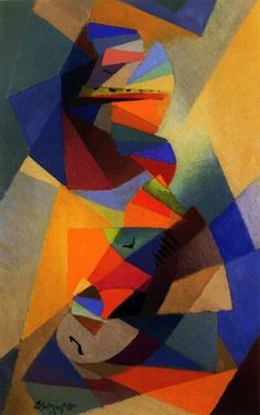 stanton macdonald wright abstract paintings
