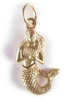 Mermaid charm along with beauty symbolizes love and its magic will mesmerize just about anyone living any sense behind. You can wear it alone or make your combination and personalize it with Initial C