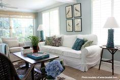 Distinctive Interior Design Tip: Mix Styles in a Sunroom  Read more on our blog: http://hoskinsinteriordesign.com/?p=1231