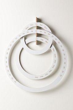 Perpetual Ring Calendar. /scrapperbug2002/ /karlimonster/ maybe we could make one of these sometime?