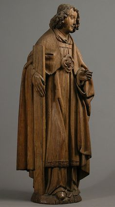 Angel with Emblem of The Passion Date: ca. 1500 Culture: French Medium: Oak