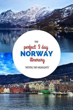 The Perfect 3 Day Norway Itinerary: Hitting the Highlights. Click the pin to read the post from www.flirtingwiththeglobe.com