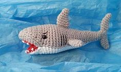 Shark crochet pattern | 2000 Free Amigurumi Patterns