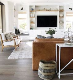Minimalist Living Room Design Ideas For A Stunning Modern Home. Find and save ideas about Minimalist living rooms in this article. Coastal Living Rooms, Living Room Interior, Home Living Room, Living Room Designs, Living Room Furniture, Living Room Decor, Cozy Living, Modern Furniture, Furniture Ideas