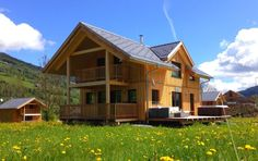 3 Bedroom Ski Chalet in Murau to rent from £558 pw, within 15 mins walk of a Golf course, with a shared indoor swimming pool. Also with jacuzzi, Sauna, balcony/terrace, Log fire and TV.