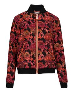 Jacquard bomber jacket - Black | Jackets & Coats | Ted Baker