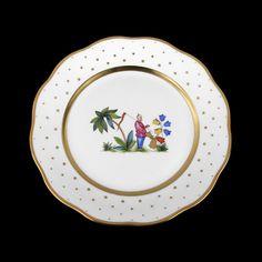 Alberto Pinto. Assiette de table 26cm de diamètre/ personnage 4