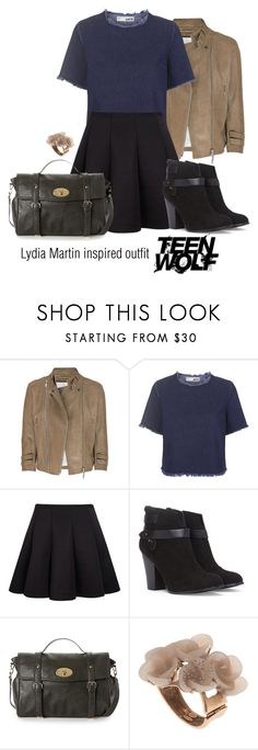 Lydia Martin inspired outfit/TW by tvdsarahmichele on Polyvore featuring Topshop, McQ by Alexander McQueen, Forever 21 and Oscar de la Renta
