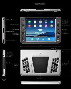 iPadの能力をより引き出す為に、T-BLADEは生まれました。