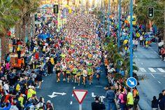TIEMPO DE DEPORTE: El HSR Gran Canaria Maratón 2016, con 7.291 inscri...