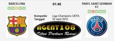 Prediksi Barcelona vs Paris Saint-Germain 22 April 2015 Liga Champions