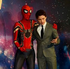 Tom Holland on Avengers: Infinity War Press Tour Iron Man 2008, Bae, Tom Holland Peter Parker, Press Tour, Marvel Fan, Comic Character, Spiderman, Avengers, Fictional Characters