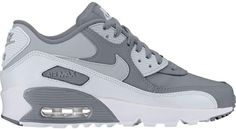 Buy and sell authentic Nike Air Max 90 Ltr Cool Grey Wolf Grey (GS) shoes and thousands of other Nike sneakers with price data and release dates. Buy Shoes, Me Too Shoes, Air Max Sneakers, Sneakers Nike, Air Max 90 Black, Air Max 90 Leather, Snake Skin Shoes, Kicks Shoes, Fresh Shoes