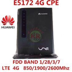 [Visit to Buy] unlocked huawei E5172 E5172-515 4g 3g wifi Router 3g 4g wifi cpe car 4g rouer pk  e5172s b970b b593 b880 b890 #Advertisement