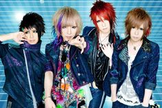 Visual kei band DIV, they show lots of potential. I'm exciting to listen to thier new single.