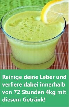 Cleanse your liver and lose it within v - Detox Drinks Ideen Reinige deine Leber und verliere dabei innerhalb von 72 Stunden mit diesem G… Clean your liver and lose within 72 hours with this drink! Healthy Detox, Healthy Drinks, Healthy Nutrition, Healthy Eating, Detox Recipes, Smoothie Recipes, Drink Recipes, Clean Your Liver, Dessert Oreo