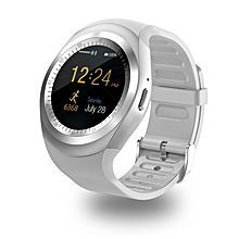 9c1a4c287e3 Smartwatch for Android iOS Bluetooth Sports Waterproof Touch Screen  Calories Burned Long Standby Pedometer Call Reminder Activity Tracker  Sedentary Reminder ...