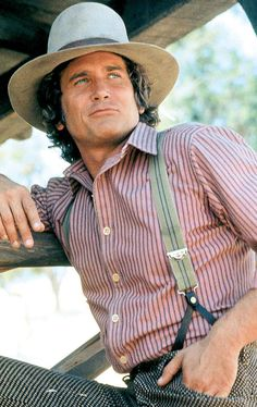 "Michael Landon as Charles Ingalls in ""Little House on the Prairie"" (TV Series)"