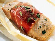 Kapor v sušenej šunke 20 Min, Meatloaf, Baked Potato, Pork, Low Carb, Potatoes, Keto, Chicken, Baking