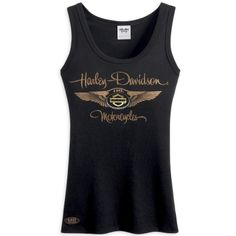 harley davidson clothing for women | ... Anniversary Knit Tank Top - Harley Davidson Womens, 96093-13VW/000L