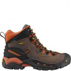 1009709 KEEN Men's Pittsburgh Work Boots - Cascade Brown www.bootbay.com
