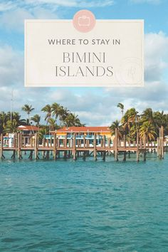 The Bimini Islands in the Caribbean are a mere 50 miles from Miami Beach. Here's everything you need to know in the ultimate Bimini Islands travel guide! Bahamas All Inclusive, Bahamas Resorts, All Inclusive Trips, Bahamas Vacation, Bora Bora, Vacation Destinations, Vacation Rentals, Vacation Ideas, World Travel Guide