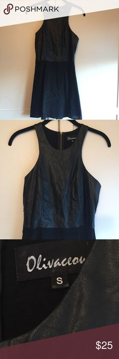 Olivaceous Black Sleeveless dress Olivaceous Black Sleeveless dress. Size Small Olivaceous Dresses Mini