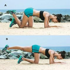 T (Tush and Abs) Workout--I cant do push ups, it makes my carpal tunnel hurt, but I think I could do this.