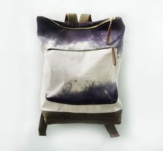 ombre stormy backpack.  rad