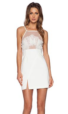 Style Stalker Shanghai Dress in White