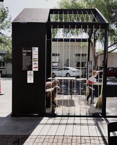 Parklet design by www.desvgn.com. Concept: LINES
