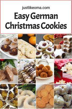 German Christmas Traditions, German Christmas Cookies, German Cookies, Holiday Cookies, Traditional Christmas Cookies, Best Christmas Cookie Recipe, Holiday Treats, Christmas Food Gifts, Xmas Food