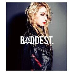 Baddest In da game ! #CL #Chaerin #2ne1 #Gizibe #GZB #ChaeLin #chaelin... ❤ liked on Polyvore featuring kpop