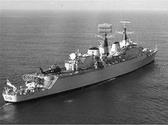 HMS Antrim D18 County Class Guided Missile (Sea Slug) Destroyer