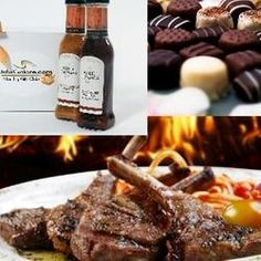 She Loves You of the Month Club - 3 Month Chocolate, Grill Meats & Gourmet Marinade Combo Wine Gifts, Food Gifts, She Loves You, Bbq Meat, Mouth Watering Food, Christmas Gift Guide, Xmas Gifts, Expensive Wine, Cheap Wine