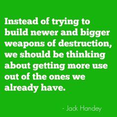 32 best Deep Thoughts (Jack Handey) images on Pinterest | Jack o ...
