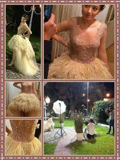 Fabulosas Creaciones By Fer... #BeautifulDress #SolFest #SanfizEventos #FernandoGabrielGonzalez