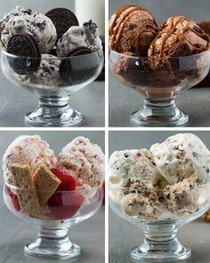 Estas receitas caseiras de sorvete são perfeitas para o final de semana