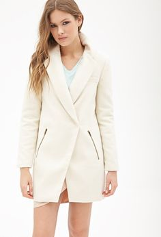 Zippered Pocket Car Coat | FOREVER21 - 2000059252
