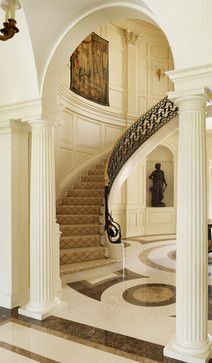 Old Metairie Residence - traditional - staircase - new orleans - Trapolin-Peer Architects