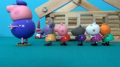 Peppa Pig in English. Peppa and her friends visit Grandpa Pig. Peppa Pig...