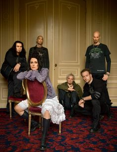 Within Temptation - A Dutch symphonic metal band.