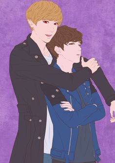 Welcome to FYEXOFANARTS! Please do not edit any of the pics posted here. Do not delete the source of. K Pop, Exo Chanbaek, Otp, True Love, Boy Groups, Fan Art, Anime, Real Love, Cartoon Movies