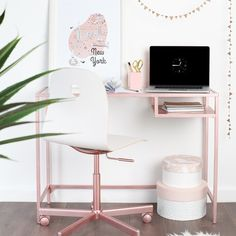 If you're looking for a quick and effective little DIY project for the weekend, look no further. With some simple flat-pack building skills and a can of Rust-Oleum, the plain metal and tempered glass IKEA Vittsjö desk can go from mass-produced to bespoke and unique in no time. And you could