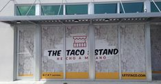 Window Wrap, Cho A, Taco Stand, Window Graphics, Google Images, Garage Doors, Content, Windows, Outdoor Decor
